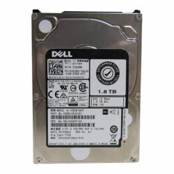 "Dell 1.8TB 4Kn 10K RPM 12Gb/s 2.5"" SAS Hard Drive - 383N9"