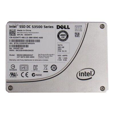Dell 480GB SSD SATA 2.5 Inch 3Gb/s Hard Drive – 334TT