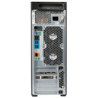 HP Z640 Workstation Back