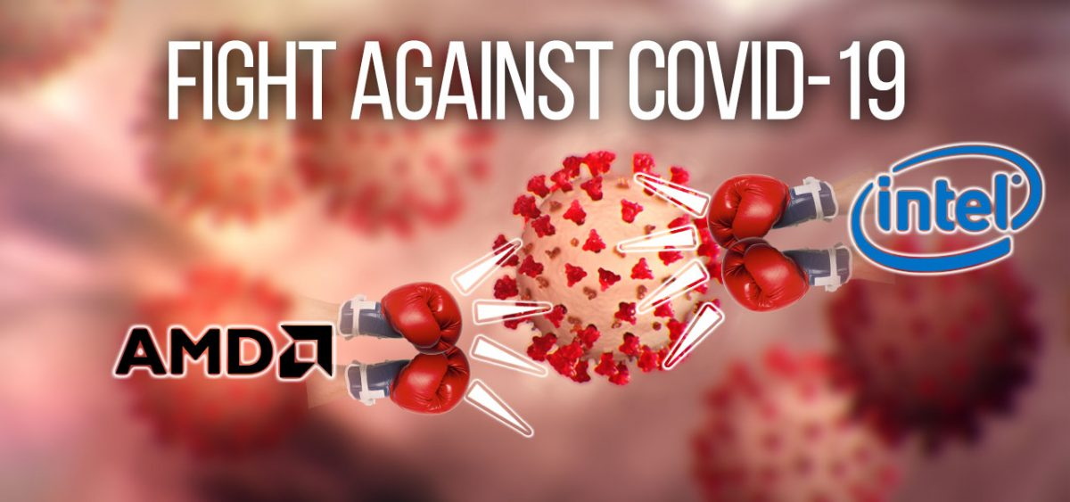The Fight Against Coronavirus, Using Technology to Combat the COVID-19. Ryzen 4000 and Intel 10th Gen Processors on the Horizon!